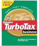 TurboTax 2001 Business [CD-ROM] Windows 98 / Windows 2000 / Windows Me /... - $98.99