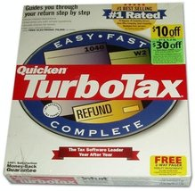 Quicken TurboTax Filing Edition Complete 1999 [OLD VERSION] [CD-ROM] - $29.69