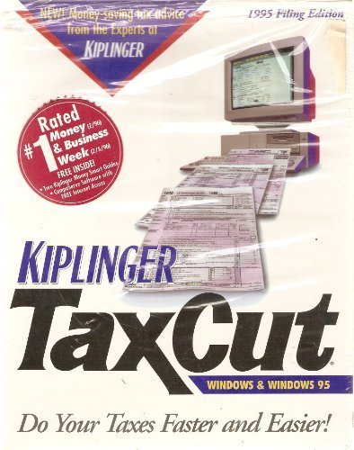"Kiplinger Taxcut - 1995 Filing Edition - 3.5"" Diskettes [CD-ROM]"