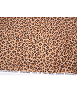 """2 7/8 yards of 56"""" Wide Leopard Print Fabric 5th Avenue Designs #5051 - $14.99"""