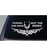 TRIBAL pitbull *B185* pit bull DECAL STICKER FOR TRUCK CAR tribal sticke... - $7.69