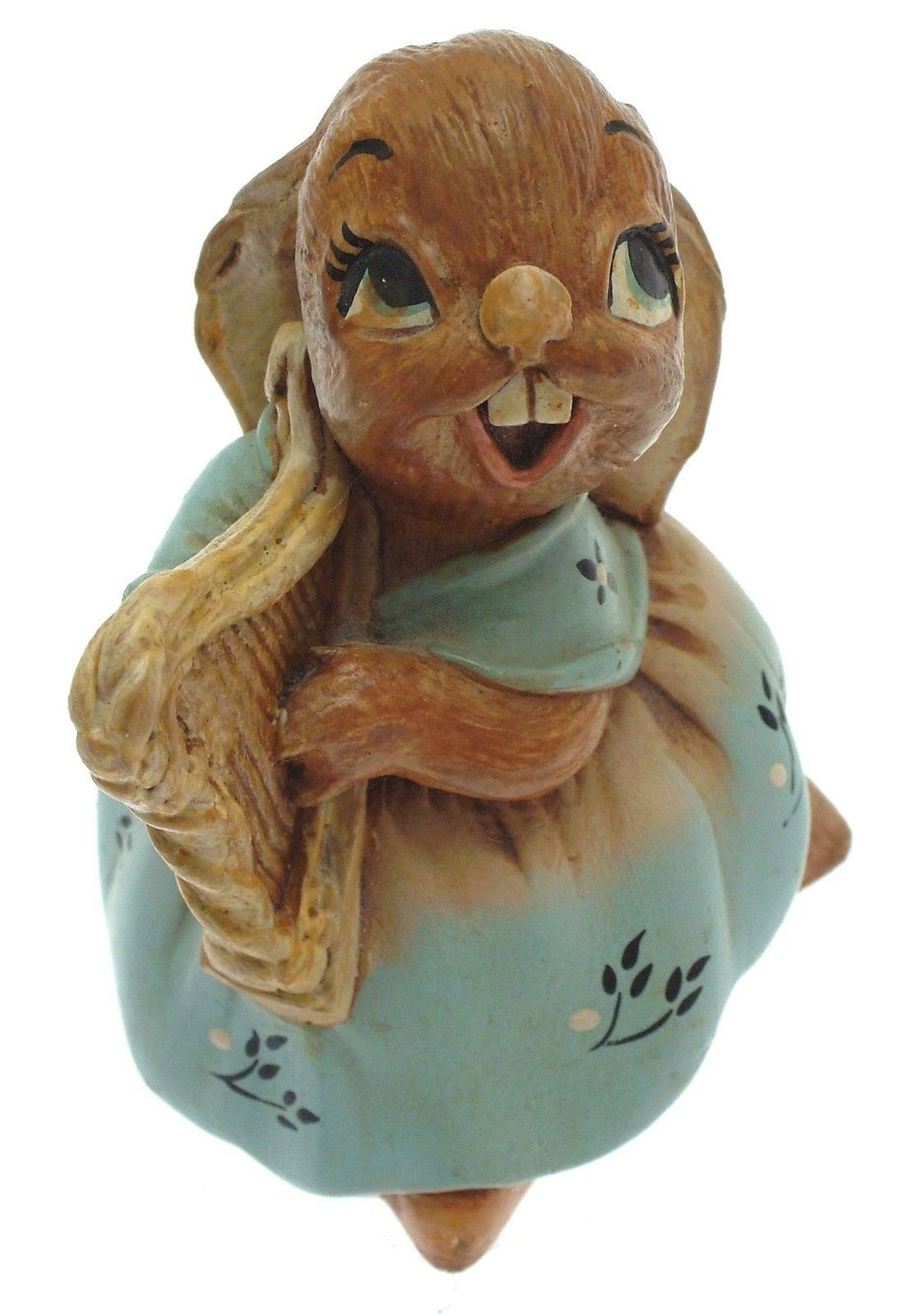 Pendefin Megan the Harp cute rabbit sculpture - Vintage piece