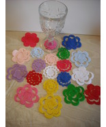 100 Assorted Random Mix Felt 3D Flowers-Die Cut... - $14.99