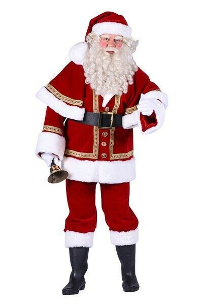 Deluxe PROFESSIONAL Father Christmas Costume