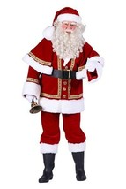 Deluxe PROFESSIONAL Father Christmas Costume  - $265.65