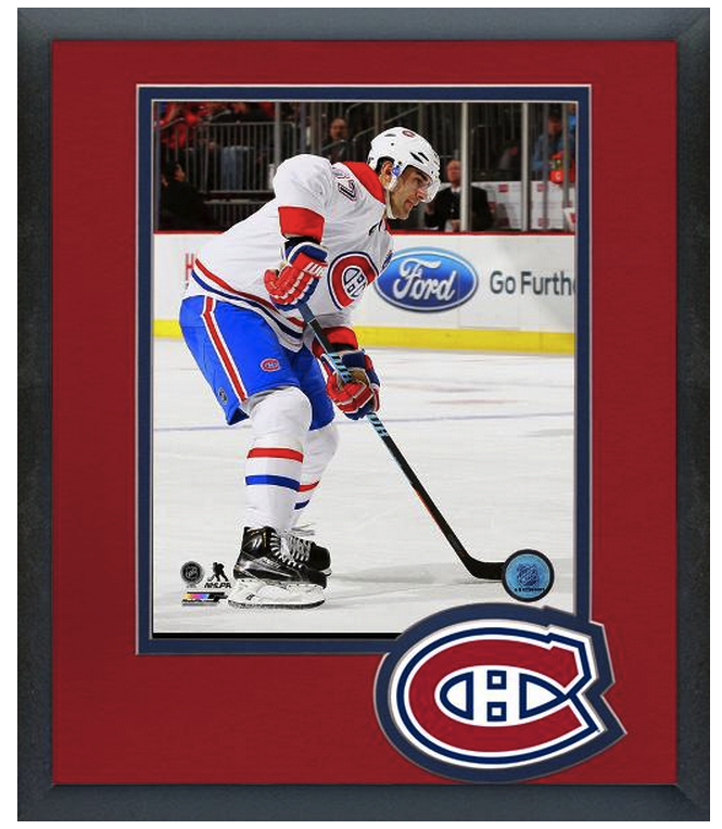 Max Pacioretty 2014-15 Montreal Canadiens-11 x 14 Team Logo Matted/Framed Photo