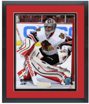Corey Crawford 2014-2015 Chicago Blackhawks -11 x 14 Matted/Framed Photo - $43.55