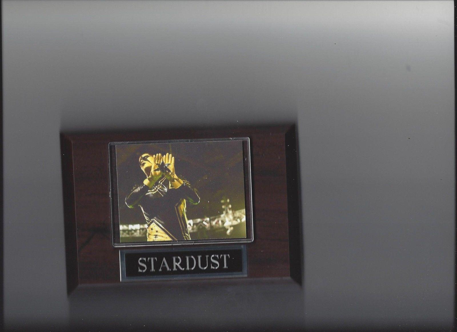 STARDUST PLAQUE WRESTLING WCW WWE