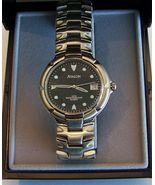Avalon Quartz Sport Wristwatch in Steel with Black Dial And Date - $40.00