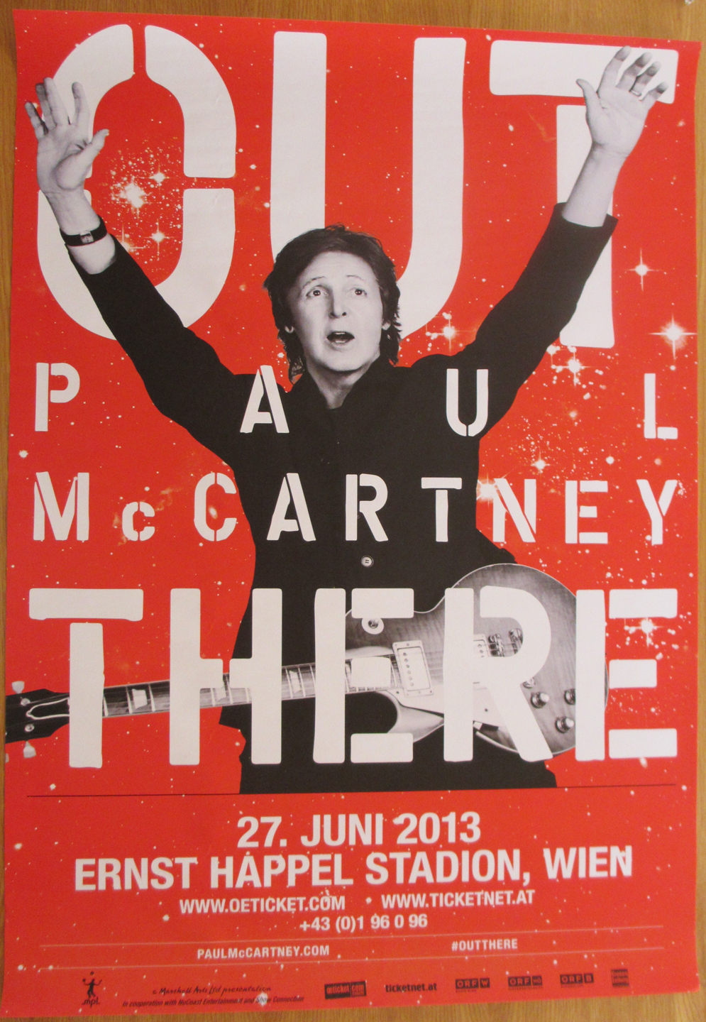 Vienna out there poster
