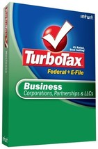 TurboTax Business + eFile 2008 [OLD VERSION] [CD-ROM] Windows Vista / Wi... - $14.71