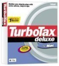 TurboTax Deluxe for Mac 2002 [CD-ROM] Mac - $69.29
