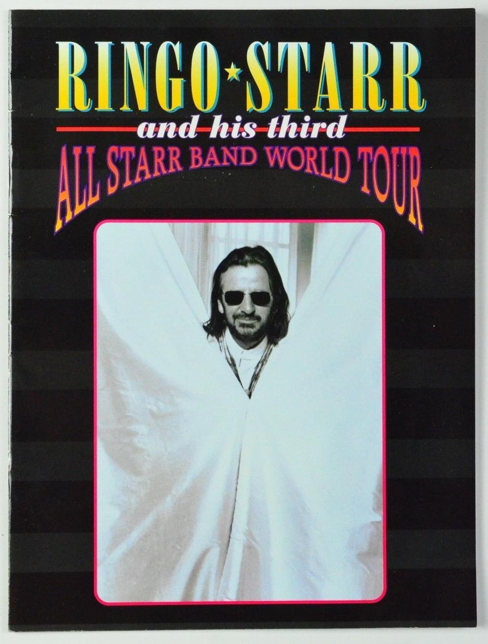 1995 Ringo Starr And His Third All Starr Band World Tour Concert Book Program