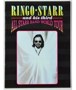 1995 Ringo Starr And His Third All Starr Band World Tour Concert Book Pr... - $24.99