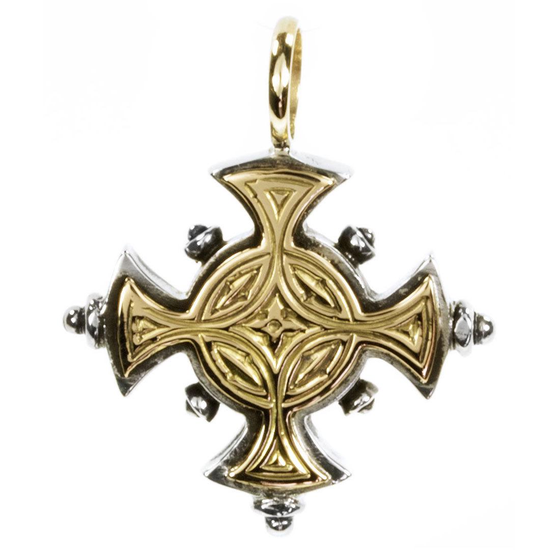 02005017 gerochristo 5017 byzantine medieval cross pendant 20