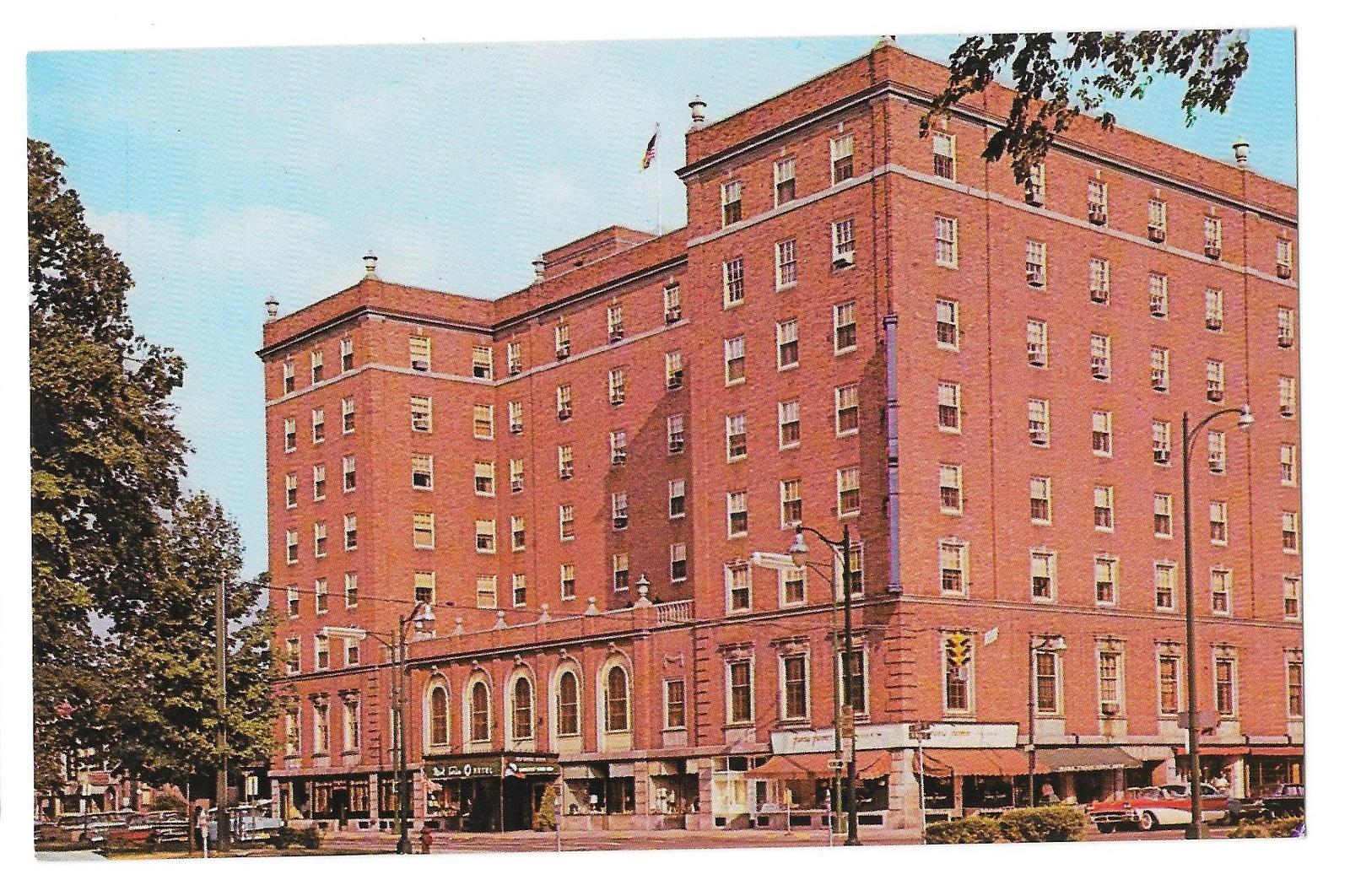 99 br 1925 1bx ny elmira mark twain hotel