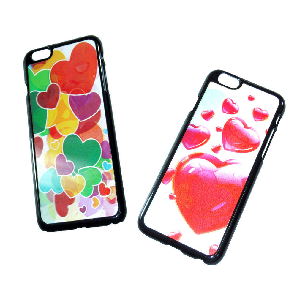 """3D HOLOGRAM CASE FOR iPhone 6 4.7"""" Love Hearts"""