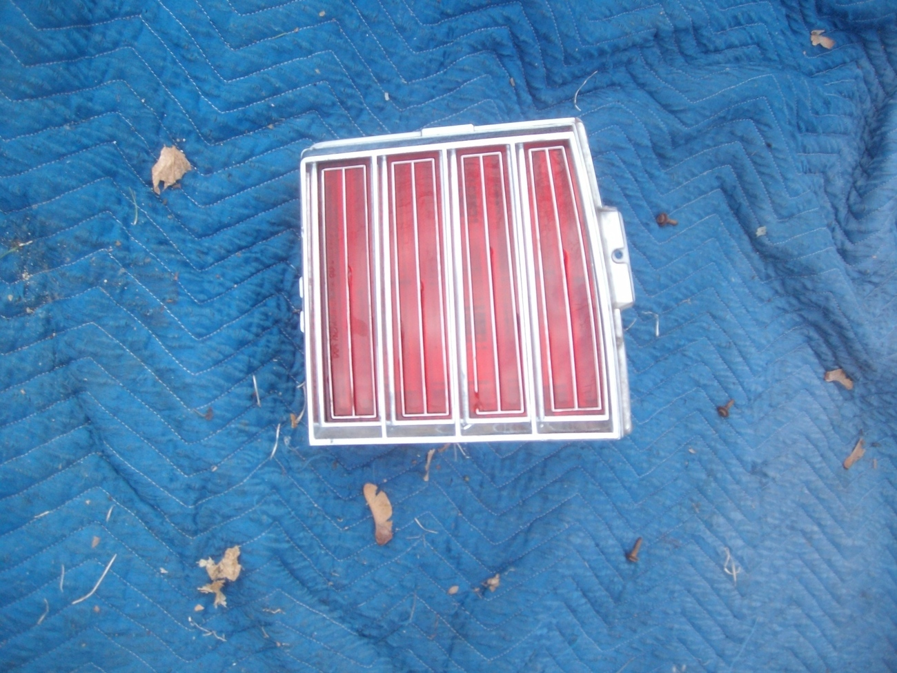 Primary image for 1979 GRAND PRIX RIGHT TAILLIGHT OEM USED PONTIAC GM PART NUMBER 5970642  2
