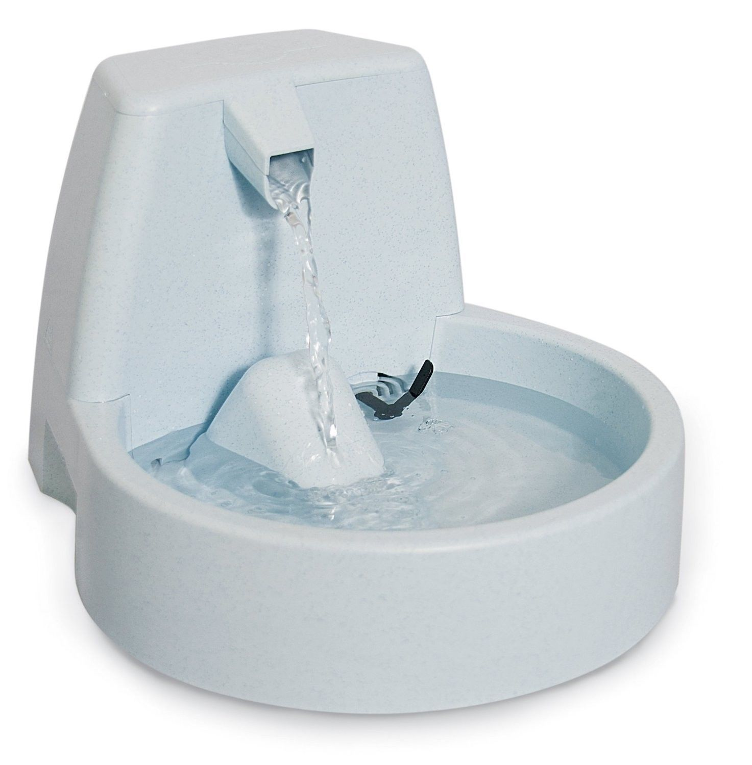 Drinkwell Pet Fountain Dog Refresh Dish Free Falling Stream Safe Bowl Puppy NEW