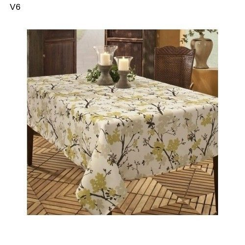 Benson Mills Stain Resistant Tablecloth Indoor Outdoor 60 X 84 Picnic CampingNEW