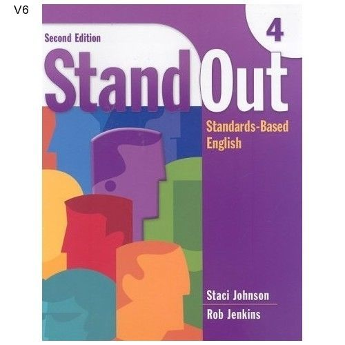 ESL Book Adult Education English Learner Stand Out Bk 4 Paperback NEW