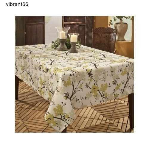 Benson Mills Stain Resistant Tablecloth Polyester Blend 52 X 70 Picnic Camp