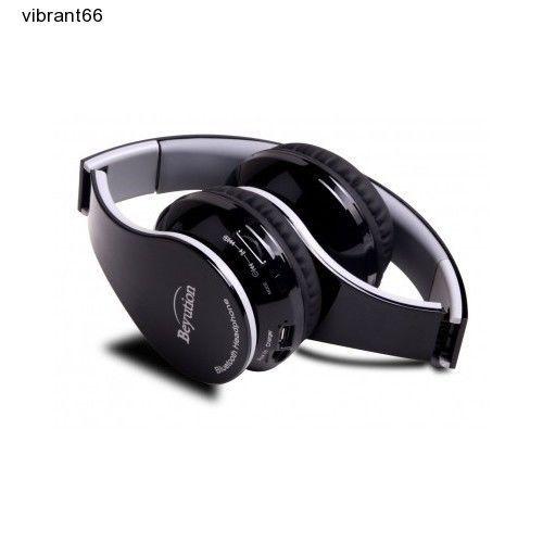 Beyution Wireless Stereo Headset Bluetooth 4.0 IPod iPad iPhone Android NEW