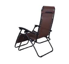 Outsunny Recliner Lounge Garden Patio MeshChair Deck Reflexology Zero Gr... - $86.50
