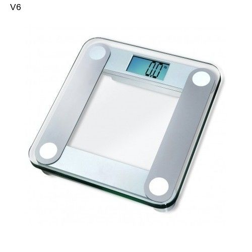 Eatsmart Digital Bathroom Scale Fitness Tempered Glass Weight Loss ESBS-01 NEW