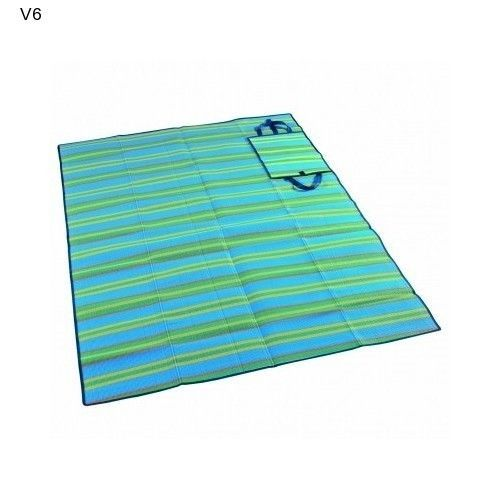 Wenzel Multi Purpose Picnic Mat Beach Sleepover Spread Carry All Cover NEW