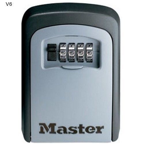 Key Lock Storage Box Master Lock Select Access Set-Your-Own Combination NEW