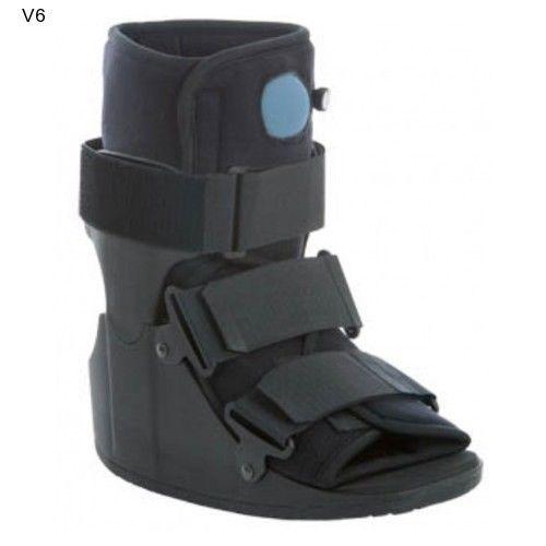 Fracture Cast Boot Short Air Cam Walker Surgical Recuperate Healing Black AM2