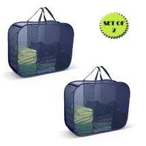 Pop Up Laundry Room Sorter 3 Compartment Clothes Hamper Easy Carry Handl... - $53.39 CAD