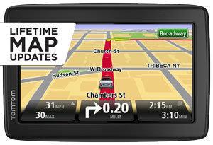 """TomTom Navigation System Traffic Update Mount Bundle 5"""" GPS Lifetime Map NEW"""