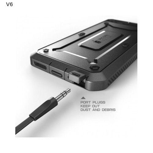 IPhone 6 Case Resistant Bumper Belt Clip Holster Apple Hybrid Case Black NEW