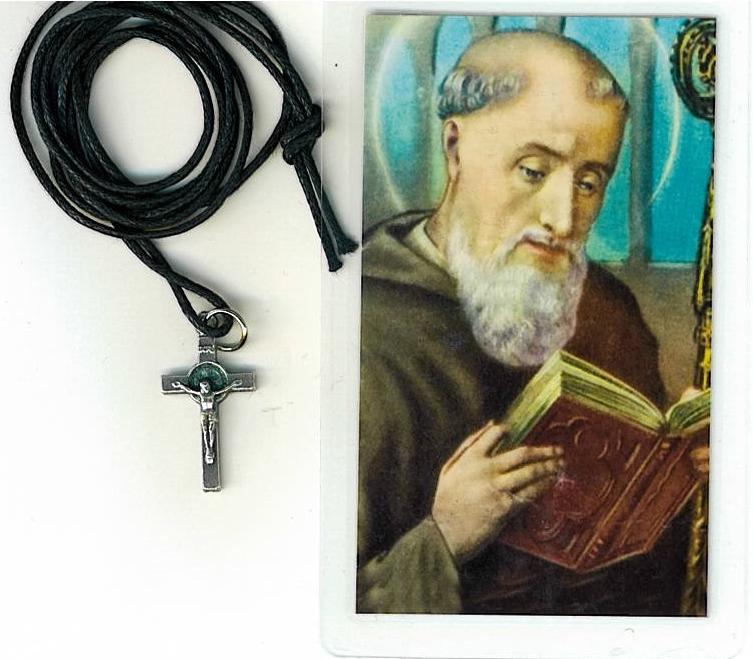 Crucifix   san benito abad h55.0297 001