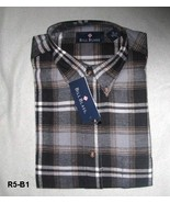 Bill Blass Grey Flannel  Men's Sz  Medium Shirt Size Medium NWT - $15.99