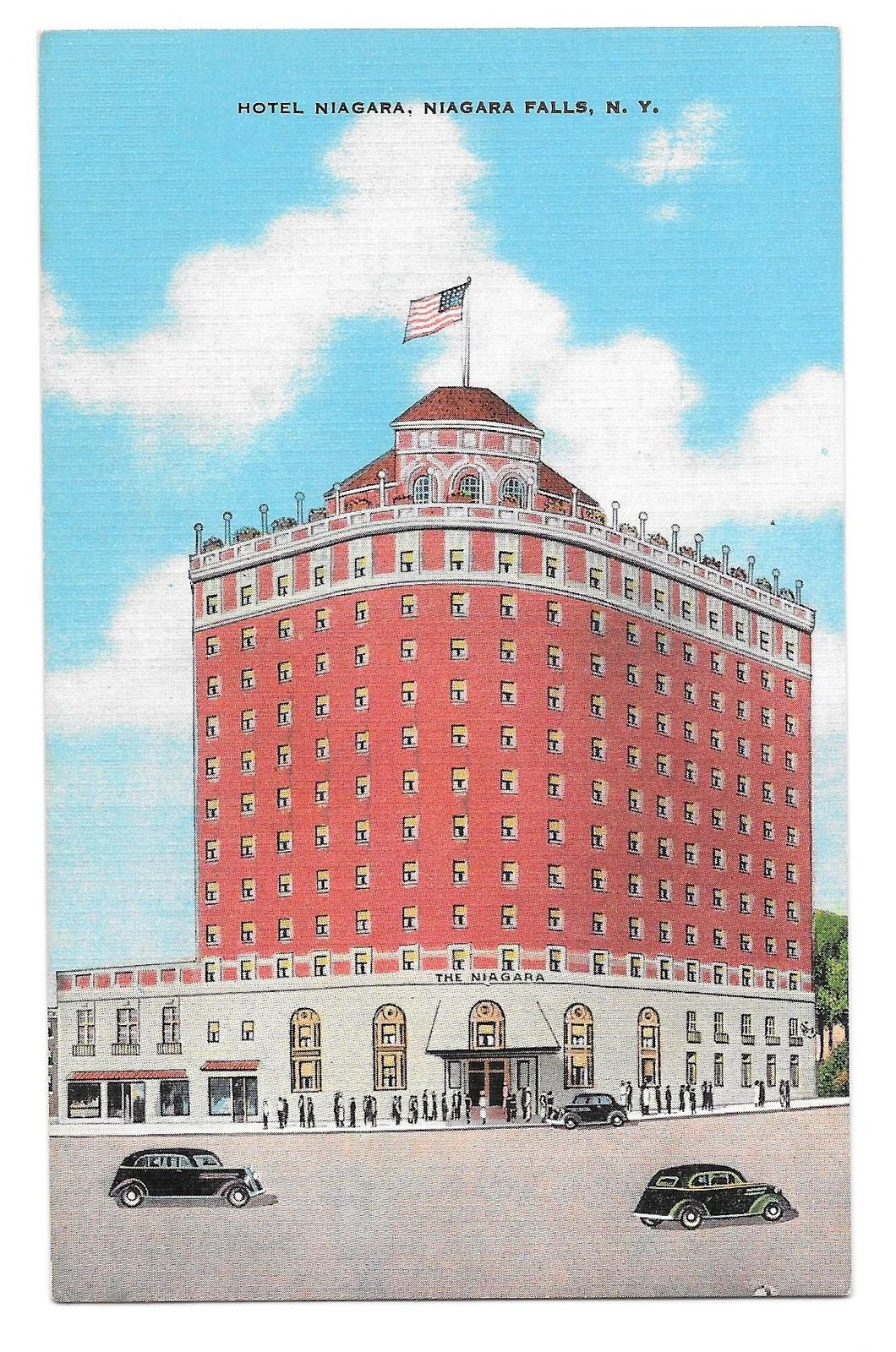 99 br 1925 1bx ny niagara falls hotel niagara kropp linen