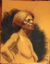 JOY DIVINE (BLACK WOMAN) AMAZING COLOR DRAWING - $450.00