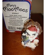 Mary's Moo Moos Santa With Child Dated 1998 Ornament, 370967 - $12.99
