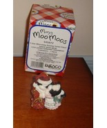 Mary's Moo Moos I Saw Moo-mmy Kissing Santa Claus Dated 1999 Ornament - $14.99