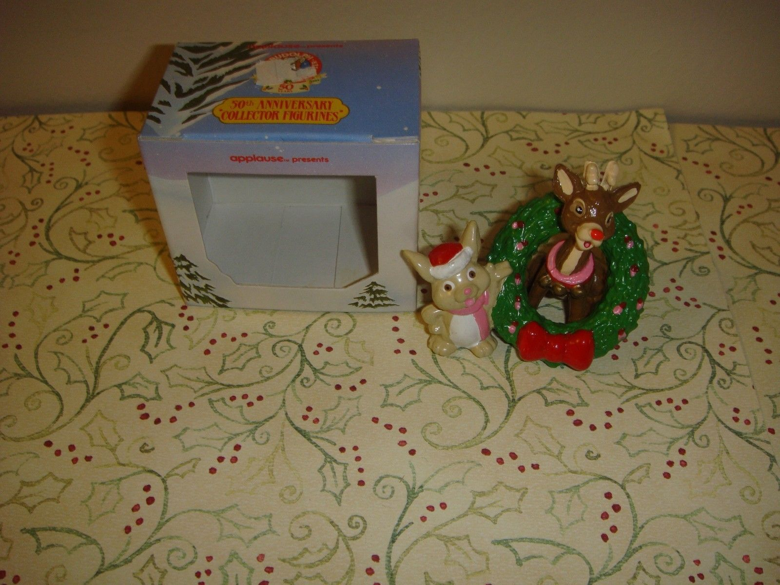 Rudolph The Red Nose Reindeer 50th Anniversary Applause Collector Figurine