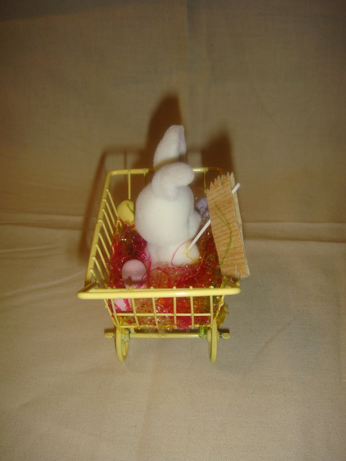 Enesco Designed Giftware Bunny In Shopping Cart Eggs For Sale