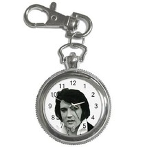 Elvis Presley Key Chain Pocket Watch Gift model 22879170 - $13.99