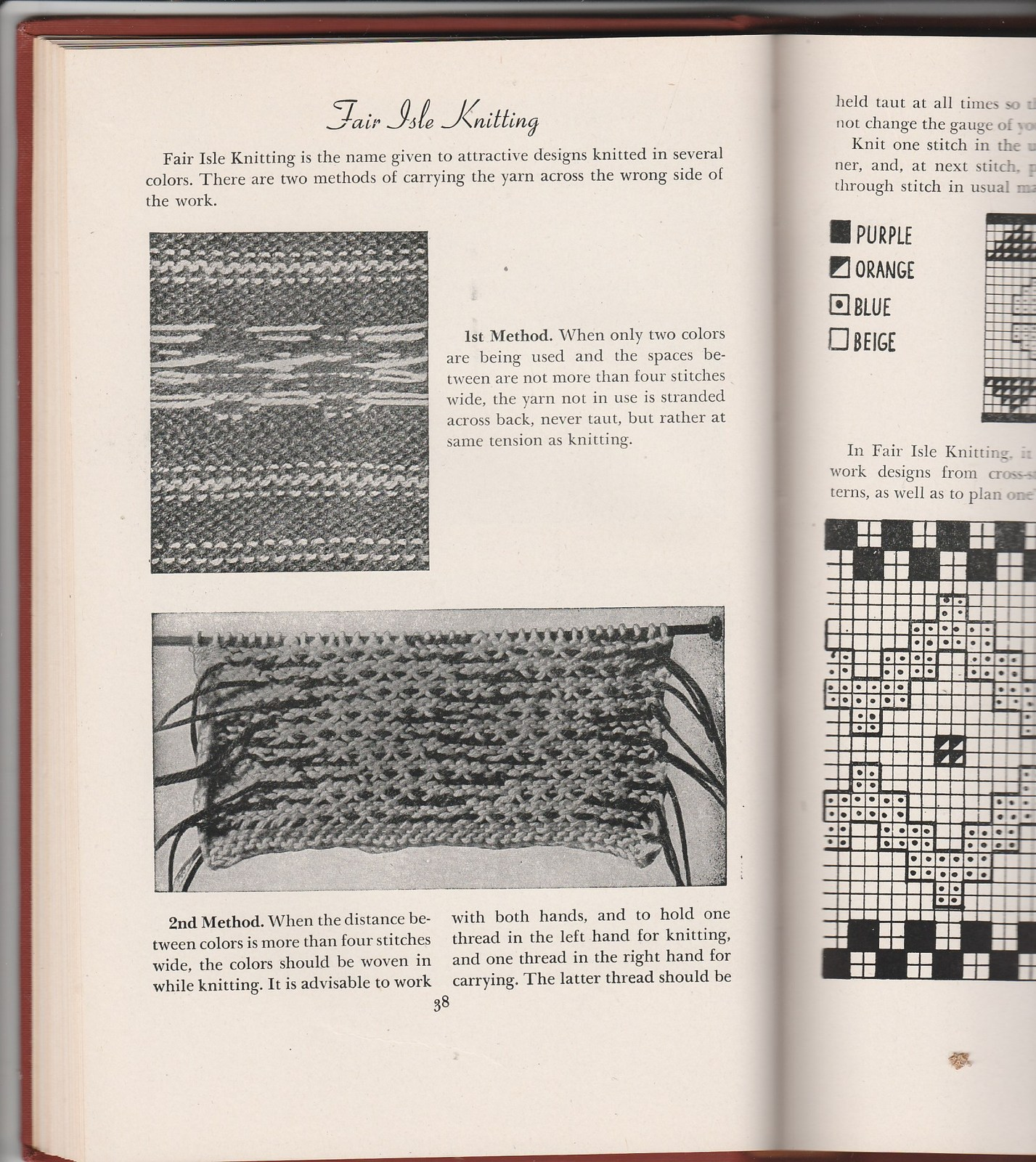 COMPLETE GUIDE TO MODERN KNITTING & CROCHETING 1947 300 illustrations