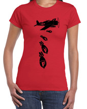 062 Dropping F-Bombs women's T-shirt funny college rude cursing All Size... - $15.00