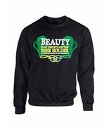 Unisex Crewneck Sweatshirt Saint Patrick's Day Beauty Beer Holder Irish ... - $22.99