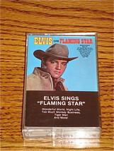 ELVIS SINGS FLAMING STAR CASSETTE - $35.63
