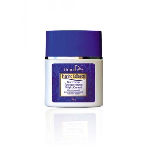 Nutritious Regenerating Facial Night Cream Marine Collagen Series by TianDe