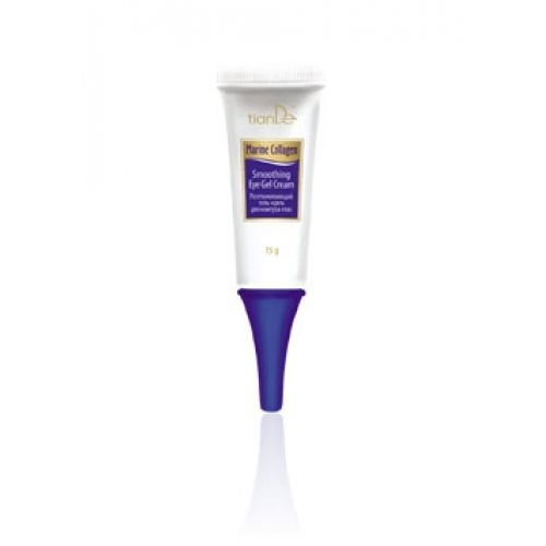 Smooting Gel - Cream for the Eye Contour, 15g Marine Collagen Series by TianDe